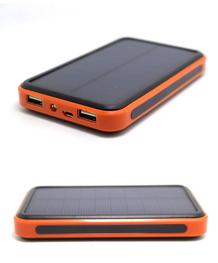 Solar powercore power bank 10000mah battery charger Mobile power Externa Bateria charger powerbank waterproof for cell phone(China (Mainland))