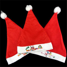 Christmas Cats for Adults Red Hat with Santa Hat Christmas Decorations Holiday Party Supplies Santa Claus Accessories(China (Mainland))