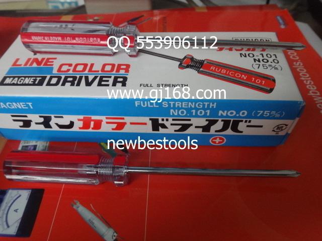 Здесь можно купить  [BELLA]RUBICON 101-75 101 # 75 original screwdriver + 3 inch color bar magnetic screwdriver--20pcs/lot  Электротехническое оборудование и материалы