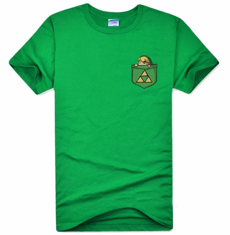 The Legend of Zelda T-shirt Anime Link Cosplay T Shirt Fashion Cotton Short Sleeve Tops Tees For Men  HTB1f8H5MXXXXXXRXXXXq6xXFXXXT
