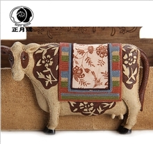 Creative Cow pastoral style furnishings home furnishings fashion ornaments living room bedroom den ornaments