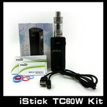 100% Authentic Eleaf iStick 60W TC Starter Kit iStick TC60W Box Mod Full Kit With Melo 2 Atomizer 18650 Istick 60W 1Pcs/Lot