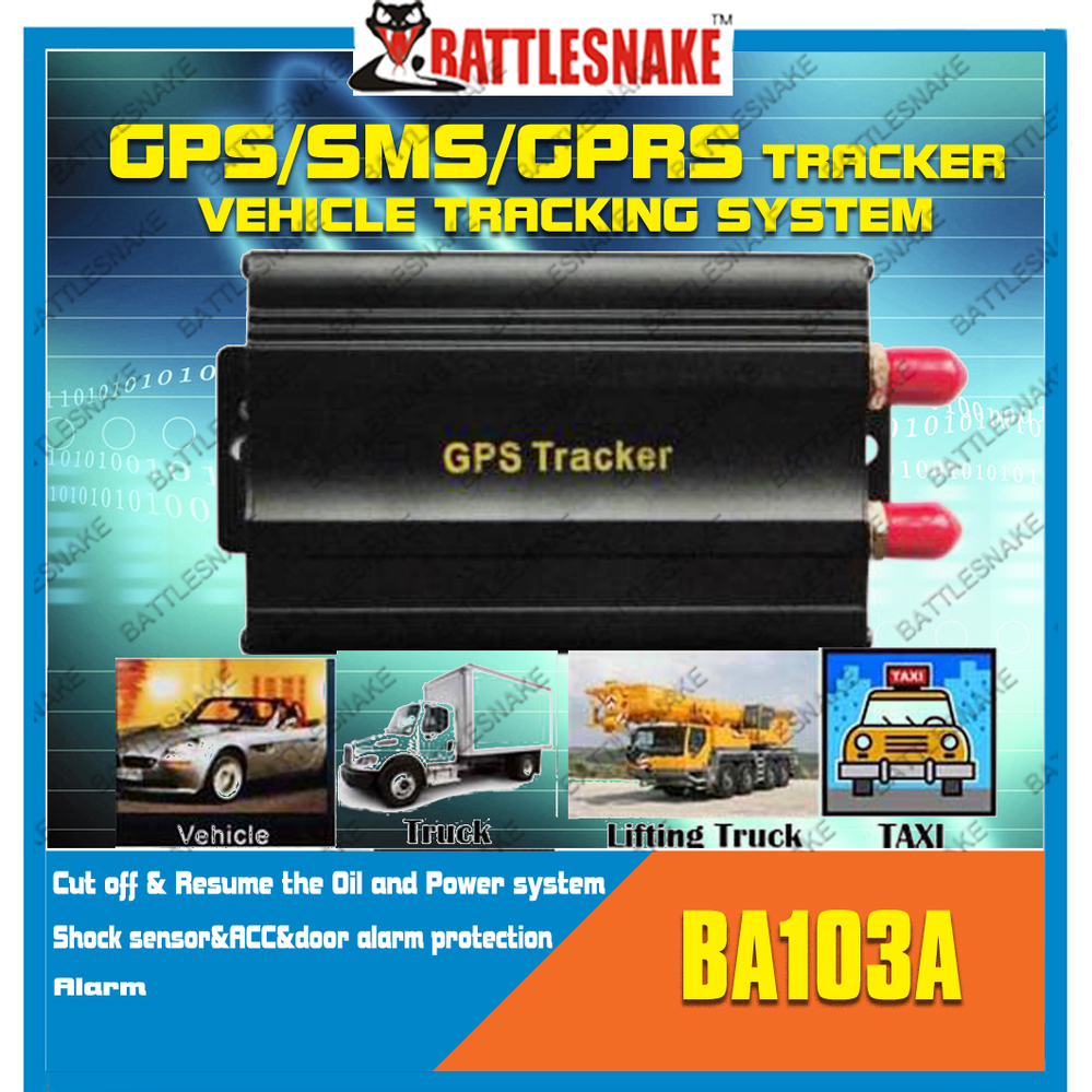 Free shipping GSM GPRS GPS tracker Device CF103-A Cut off the Oil and Power system Google link real time tracking(China (Mainland))