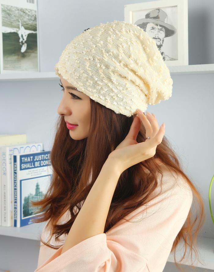Winter Hat Cap Korean Lace Cap month pregnant women pregnant maternal confinement activities hat headscarves pile cap
