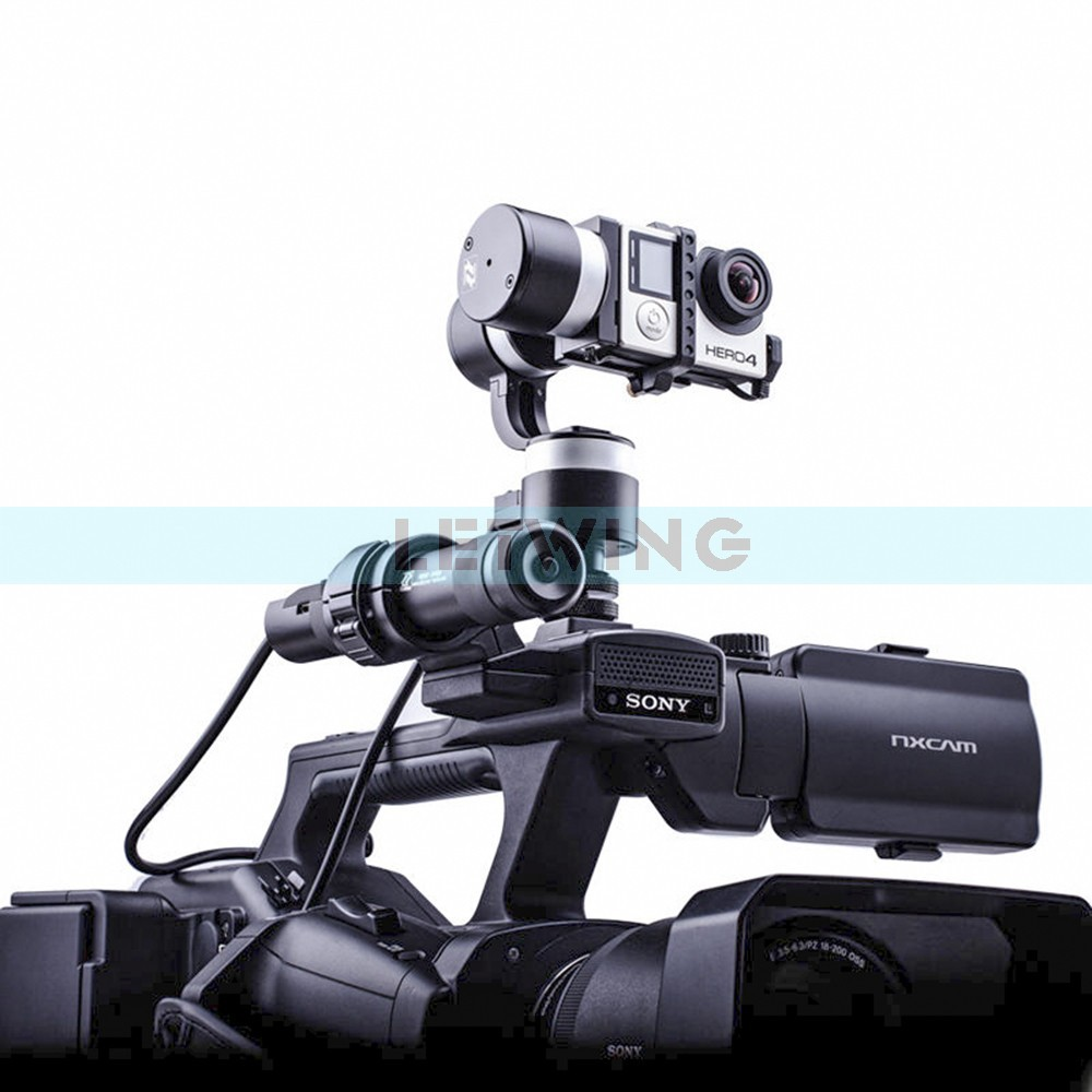 Zhiyun Z1-Rider2 3-Axis Handheld Stabilizer Brushless Gimbal for Skiing Motocycle for Gopro 4 3 3+ SJ4000<br><br>Aliexpress