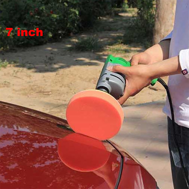 7 Inch Car Paint Care Polishing Set Waxing Sponge Buffing Pads Compound Auto Wash Cleaning Tool 7Pcs/Kit