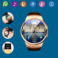 2016 Hot Bluetooth Smart Watch Phone KW18 Sim And TF Card Heart Rate Reloj Smartwatch Wearable