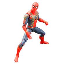 16cm Brinquedo Vingadores Thanos Maravilha Spiderman Hulk Homem De Ferro Capitão América Thor homem Formiga Action Figure Modelo Brinquedos Bonecas para As Crianças(China)