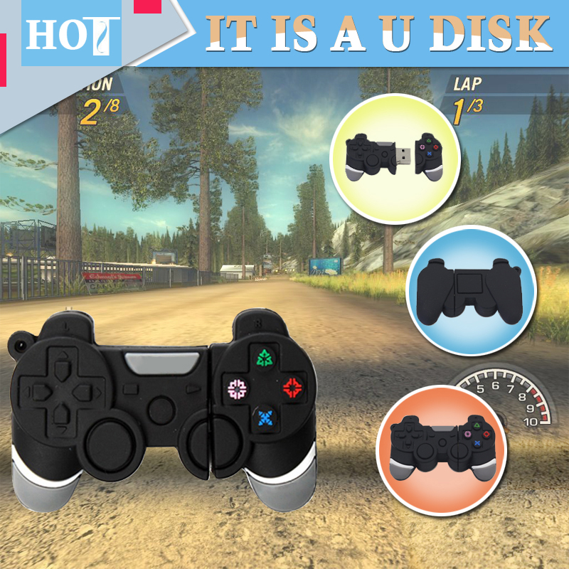 Hot sale Cool game consoles handle USB Flash Drive pen drive 4GB 8GB 16GB 32GB 64GB memory stick pen drive gift for your kids(China (Mainland))