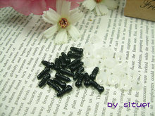40PCS (20pairs)  6 mm Plastic Safety Eyes for Amigurumi or doll(China (Mainland))