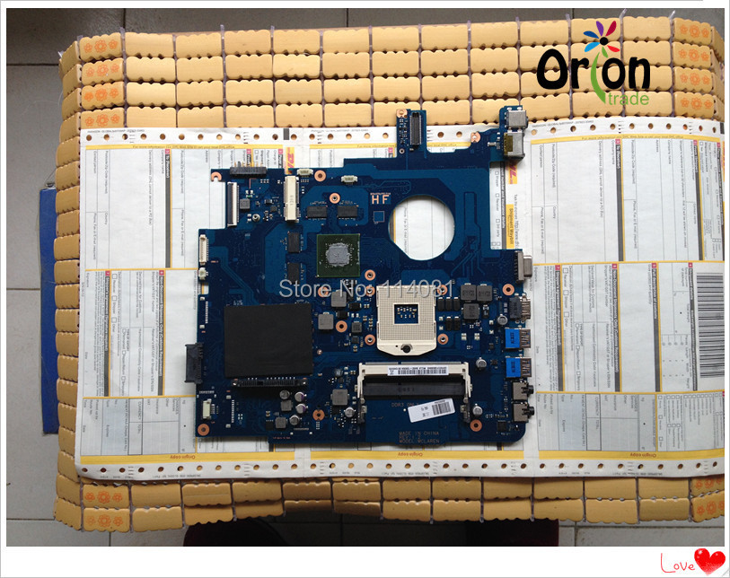 notebook motherboard For Samsung NP550 NP550P5C N13P-GT-A1 GT650M BA92-09094A BA41-01898A Tested OK Free shipping<br><br>Aliexpress