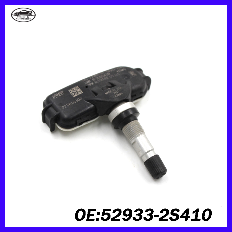 Tpms Sensor For KIA Sportage SL SLS Hyundai IX35 Elantra Tire Pressure  Sensor 52933 2S410