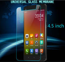 Buy New 4.5 inch Universal Toughened Tempered Glass Doogee Cubot Elephone iocean Jiayu Screen Protector Clear Protective Film for $3.47 in AliExpress store