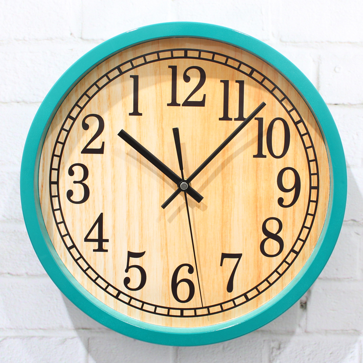 Wholesale Large Decorative Pastoral Wood Wall Clocks