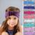 2016 Flower Headband Baby Girl Headband Infant Turban Baby Headband Cotton Knit Elastic Hair Bands Girls Kids Hair Accessories