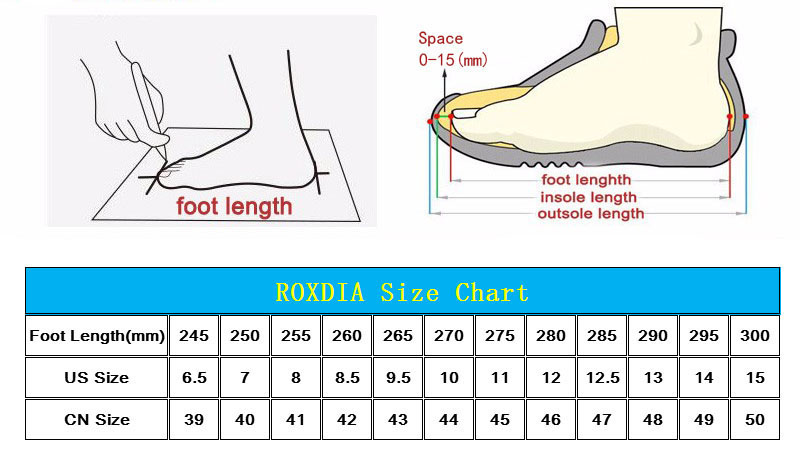 ROXDIA Plus Size 39 48 Genuine Leather Men Casual Flats Waterproof ... e6badbc39f5f