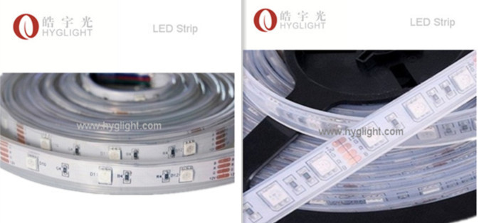 Ip67 waterproof led strip light 5050 smd RGB rope - professional products manufacturer store
