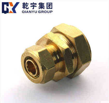 F1 Compression Fitting Brass Reducing Straight Union for Watering(China (Mainland))