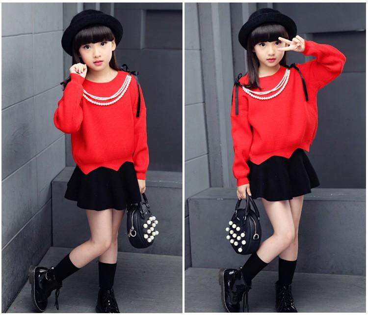 Скидки на Девушки мода свитер тонкий дна рубашки хлопка свитер весна осень одежда девушки, прекрасная девушка