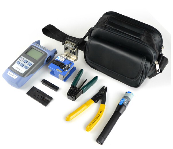 Cable Fault Kit : Fiber optic toolbox kit with power meter and cable tester