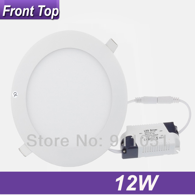 High Quality 12W Round Kitchen Flat Panel Lights 6inch