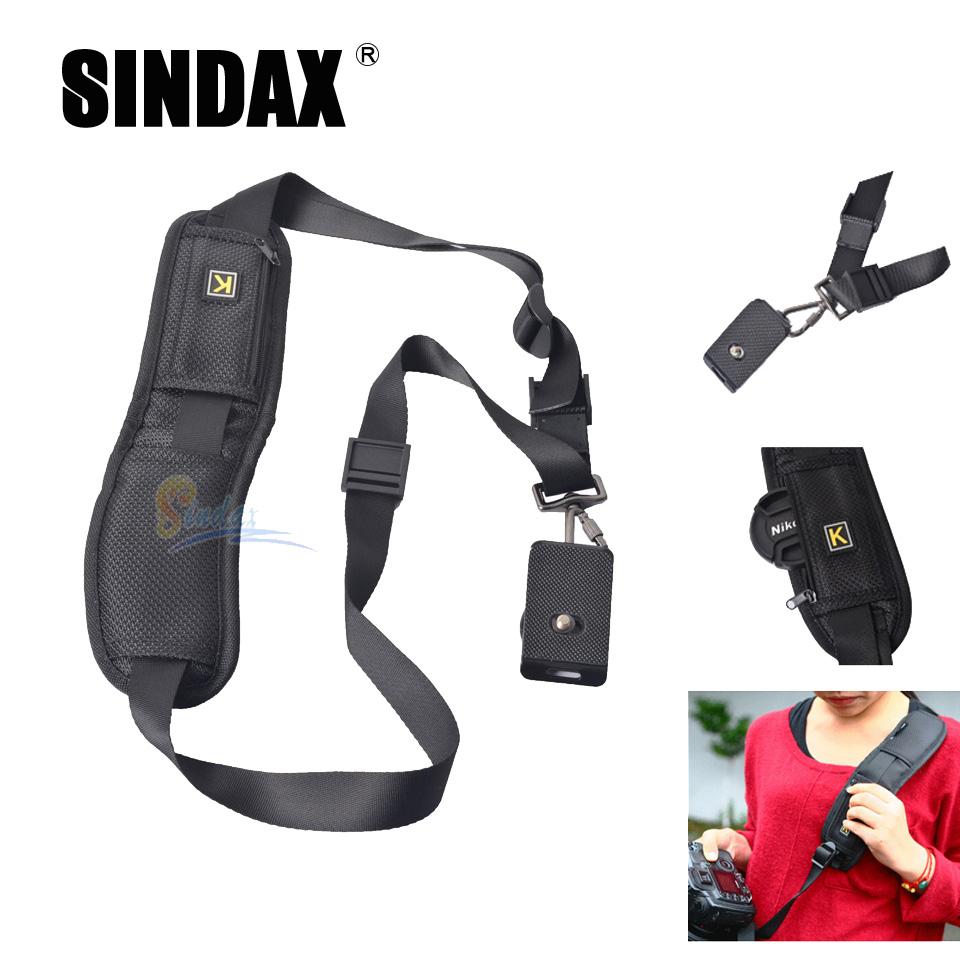 SLR/DSLR digital camera Shoulder blet strap Single Shoulder Sling Black Belt Strap for Canon Nikon Sony SLR/DSLR digital camera(China (Mainland))
