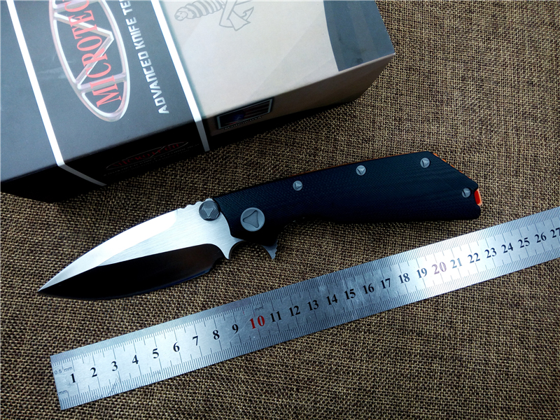 Buy KESIWO D2 blade MT D-O-C tactical folding knife G10 handle top quality outdoor camping survival knife with tools cheap