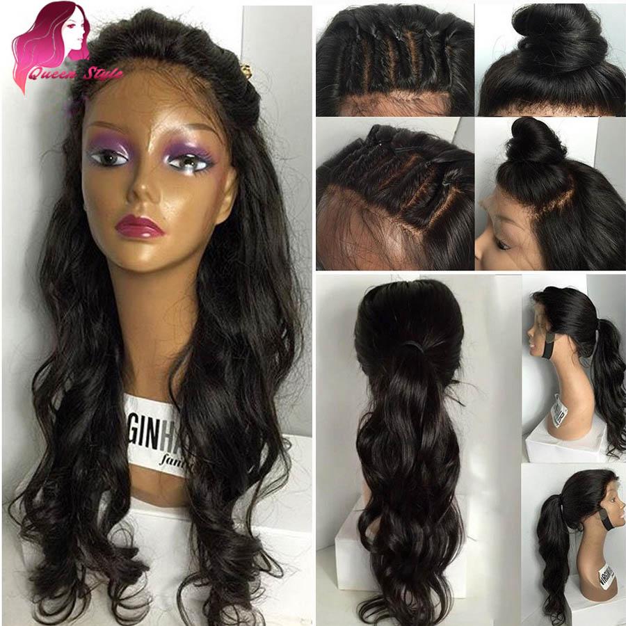 full lace synthetic wigs with baby hair uk lace front wigs