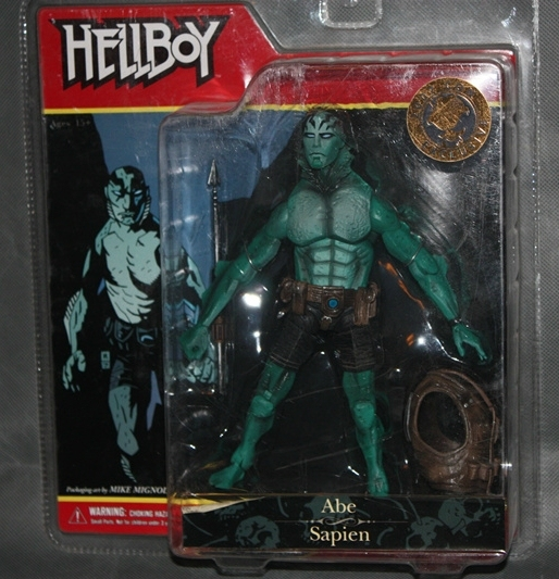 MEZCO HELLBOY ABE SAPIEN COMICS SERIES SDCC 2007 CON EXCLUSIVE ABE ACTION FIGURE RARE