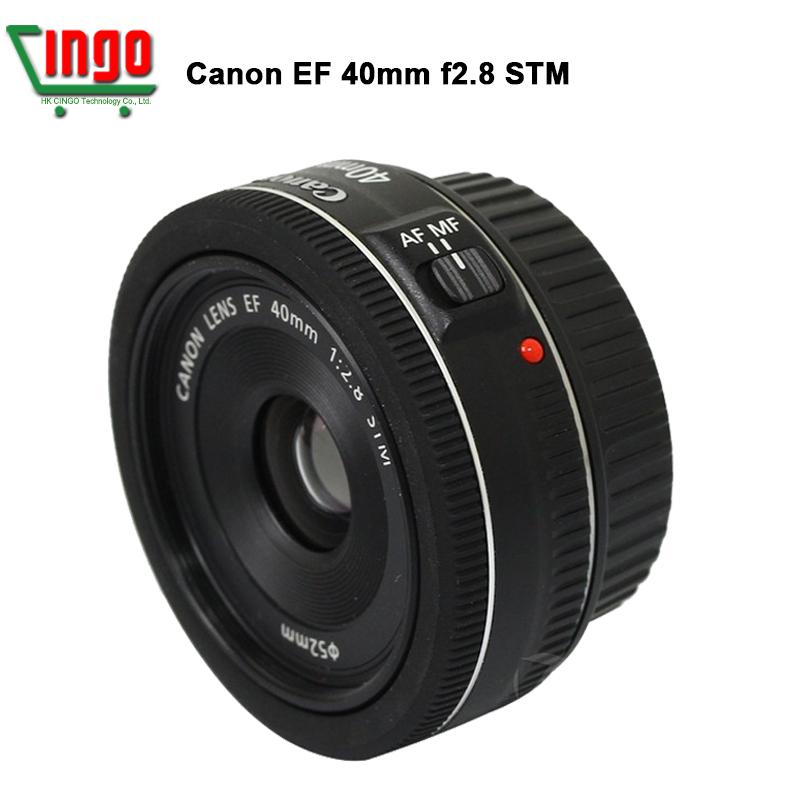 Original Canon EF 40mm f/2.8 STM Camera Lens For 5D 7D 100D 650D 700D DSLR Camera 135mm standard lens maximum aperture F2.8 AF(China (Mainland))