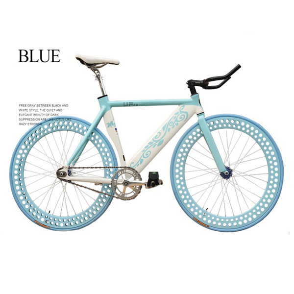 New Road Bike Mountain 26 inch bicycle Aluminum road bike speed car color hollow pattern Single Speed fixed gear bike frame(China (Mainland))