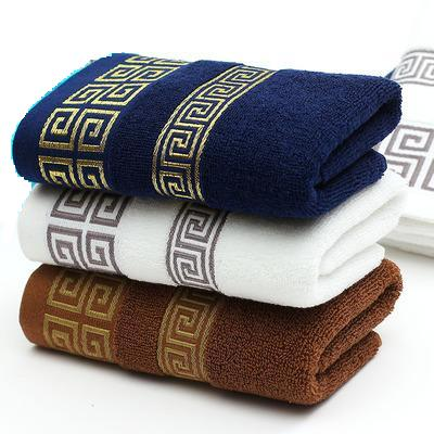 Free shipping luxury men face towel 33*74cm super soft 100 cotton towel brand home use bathroom(China (Mainland))
