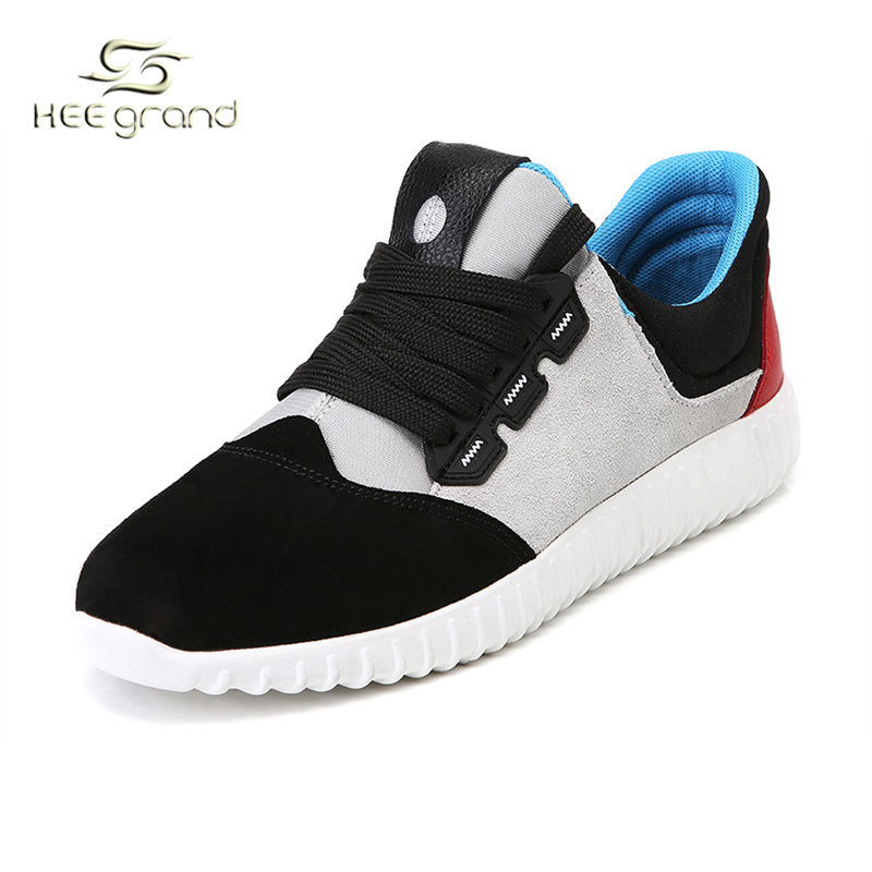 New Arrival 2016 Men's Walking Jogging Sport Shoe Man Lace-Up Comfortable Sports Shoes Spring Autumn Sneakers For Male XYP112