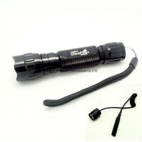 UltraFire WF 501B Tactical Flashlight XML T6 LED Torch Lamp 2000 Lumens Lantern with Remote Control Pressure Switch
