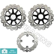 94 95 96 97 98 Front Rear Brake Discs Rotors CB N 400 CBR 600 F SuperSport F3 900 RR VTR FIRESTORM SUPER HAWK 1000 - Wuxi Thai-Racing Trade Co., Ltd. store