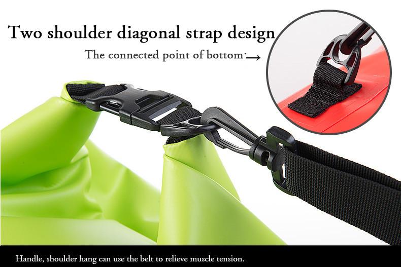 NatureHike 20L Multifunctional Ultralight 500D ocean outdoor Waterproof Rafting Bag Dry Bag For Drifting Swimming <font><b>Camping</b></font>