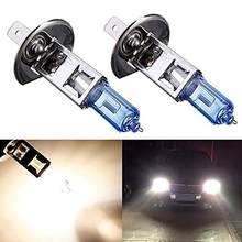 Buy 2pcs H1 55W 12V Halogen Bulb Super Xenon White Fog Lights High Power Car Headlight Lamp 6000KCar Light Source Parking Bulbs for $2.48 in AliExpress store