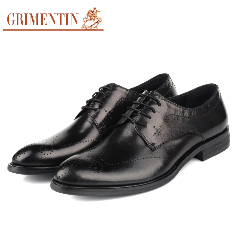 fashion men dress shoes genuine leather formal business shoes z339(China (Mainland))