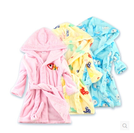 Hot! 2015 New Boy Girl Animal Baby Bathrobe /Baby Hooded Bath Pajamas kids Bath Terry Children Infant Bathing / Baby Robe Romber<br><br>Aliexpress