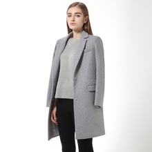 Special Offers Wool Coats High Quality Winter Jacket Women Slim Warm Woolen Long Cashmere Coats Cardigan Jackets Elegant Blend(China (Mainland))