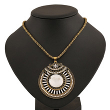 YWNZ2015 5 Free Shipping 2015 Fashion Jewlery Vintage Acrylic Necklaces Pendants Collar Jewelry Women High Quality