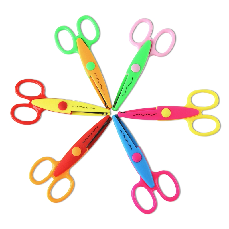 1pcs Scrapbooking Edger Scissors Photo Supplies Paper Decorative Wave edge Scissor for Scrapbook Album/decorative Stamps Edge