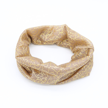 New Fashion scarf 2016 GOLD blocking design Women Neckerchief multi-purpose Ring Designer Scarf 6 Colors wholesale drop shipping(China (Mainland))