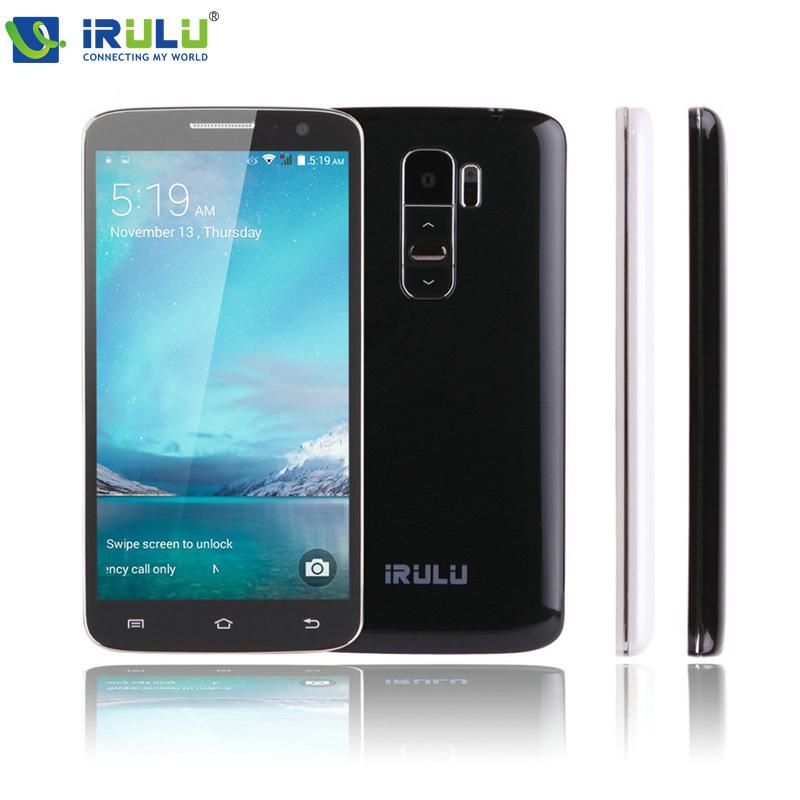 "iRULU Smartphone U2 5.0"" MTK6582 Android 4.4 Quad Core Brand Phone 8GB Dual SIM QHD LCD 13MP CA"