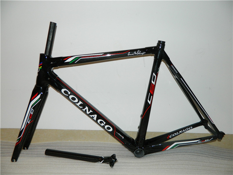 Colnago carbon road bicycle frame M10.c59.c60.carbon road bike frame,full carbon,free shipping,customied(China (Mainland))