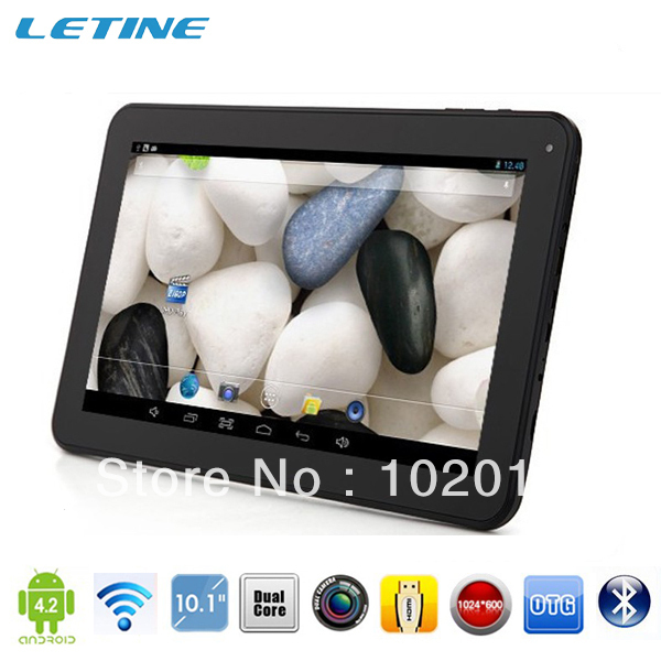 "50pcs/lot 10.1"" Android 4.2 Allwinner A20 Cortex A8 CPU dual camera android 4.2 HDMI 1G/16GB bluetooth mid tablet pc"
