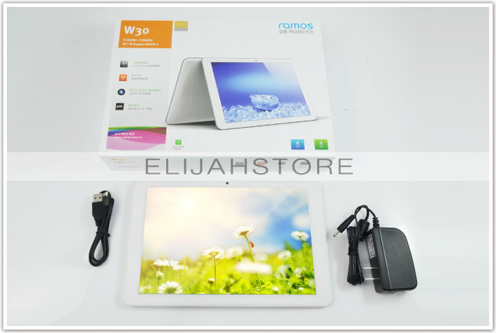 """Original 10.1"""" IPS Capacitive Ramos W30 With Sams*ng Exynos 4412 Quad Core 1.5Ghz Dual Camera Tablet pc 10 inch"""