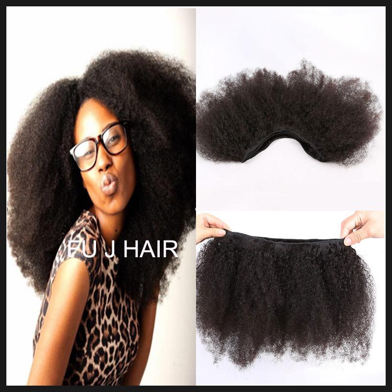 Brazilian Afro Kinky Curly Hair Weave 100g Kinky Curly Virgin Hair