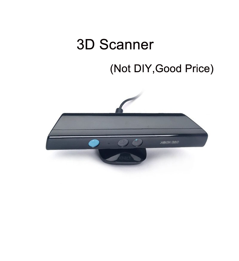 3D scanner for 3D printer handheld body face object scan NOt DIY big scan area with software low price free shipping DHL(China (Mainland))