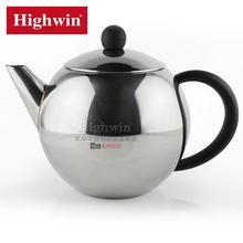 Factory direct sale 0.5L hot sale stainless steel teapot , tea set ,tea kettle with strainer
